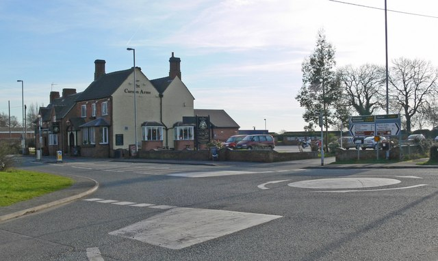 Main Road in Twycross, Leicestershire