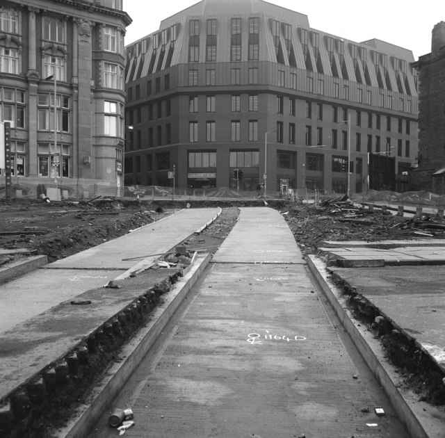 View towards Balloon Street, Manchester