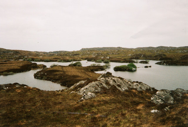Lochan with no name, N W of Garbh Loch Mor
