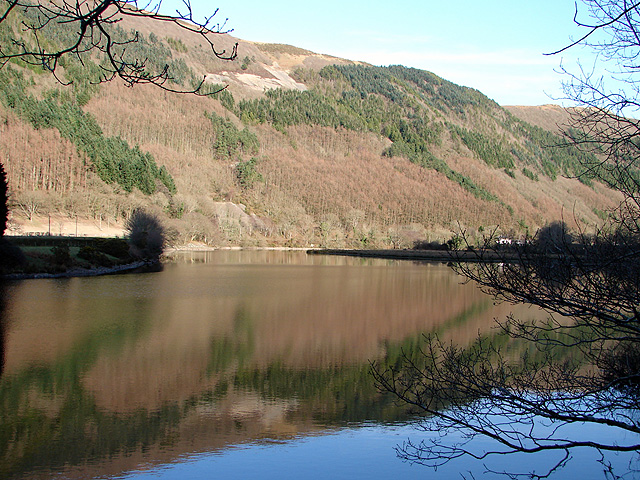 Rheidol Hydro Scheme Reservoir