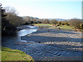 SN6479 : The Rheidol from Pont Rheidol at Rhiwarthen by John Lucas