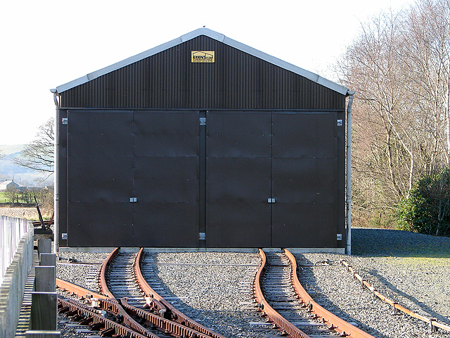 Vale of Rheidol Railway, Rolling Stock Storage Shed
