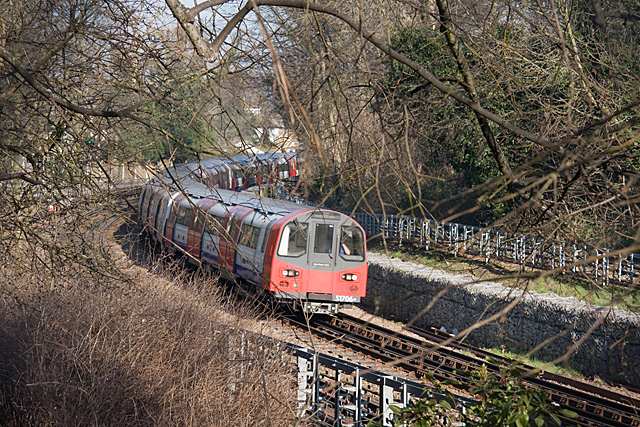 Approaching Finchley Central