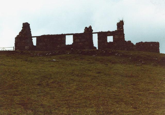 Ruin, Gleann Dubh