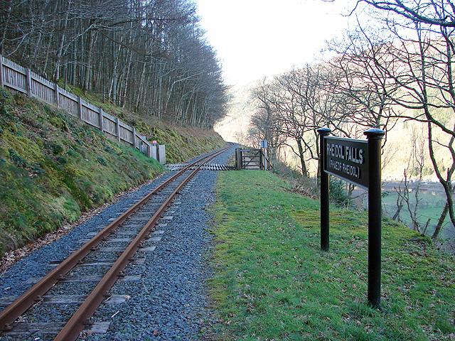 Rheidol Falls Station, Vale of Rheidol Railway