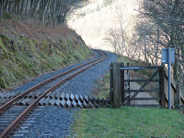 Vale of Rheidol Railway, Foot Crossing
