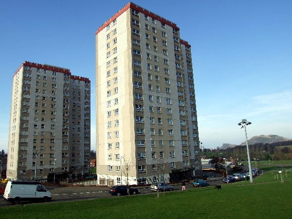Moredun high flats