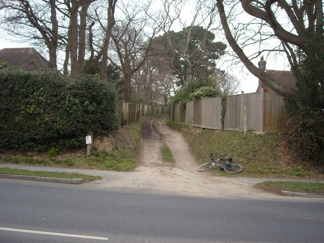 Public Footpath, Bexhill-on-Sea