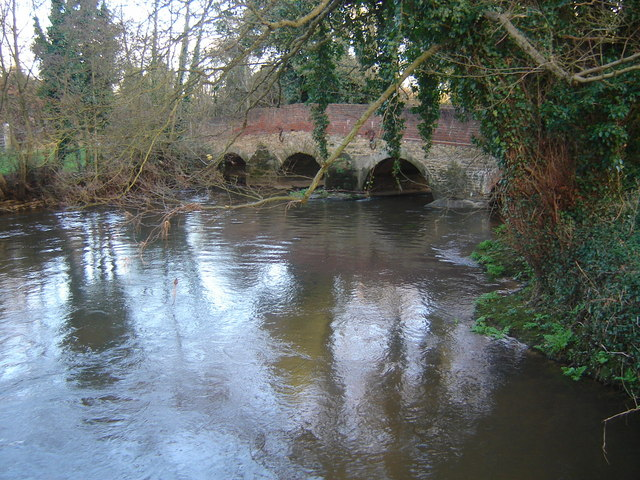 Somerset Bridge on River Wey