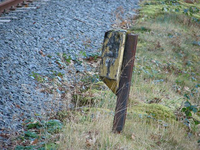 9¼ Milepost, Vale of Rheidol Railway