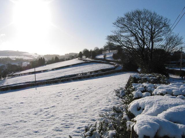 Snow at Hope Park