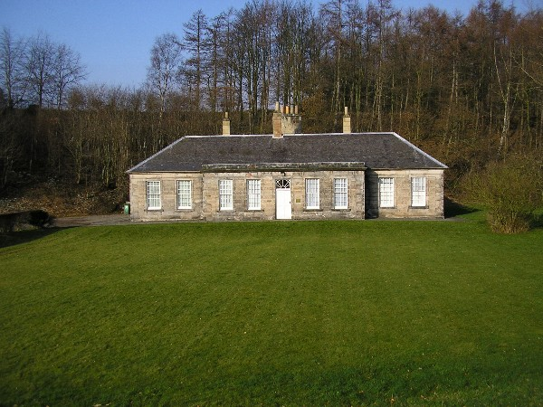 Laundry House, Dalkeith country park