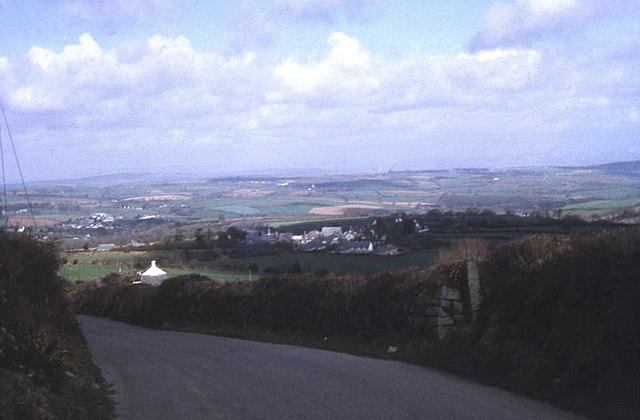 Lane to Upton Cross