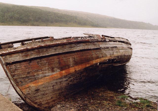 Wreck of the Carradale Loch Aline