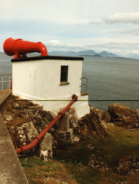 Fog Horn, Ardnamurchan Point - and Jack