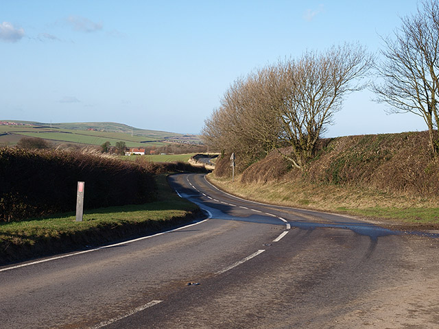 B1366 north of Liverton