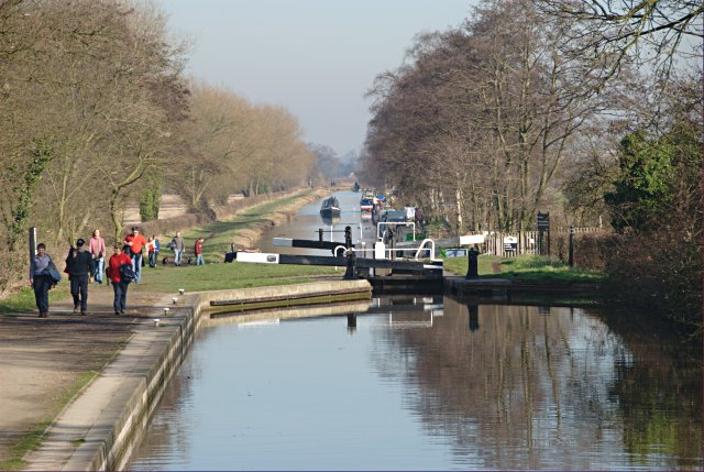 Hunt's Lock, Trent and Mersey Canal