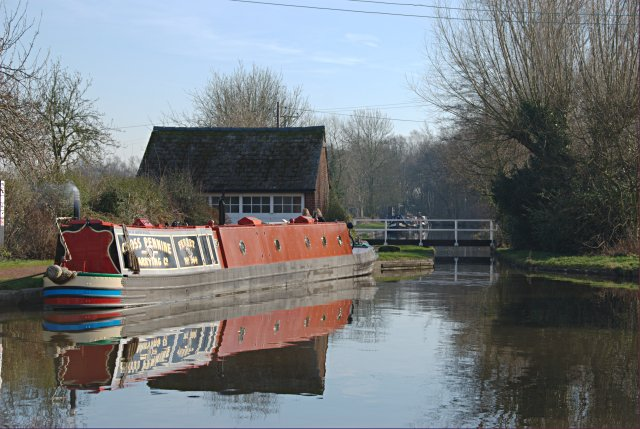 Coventry Canal at Fradley Junction