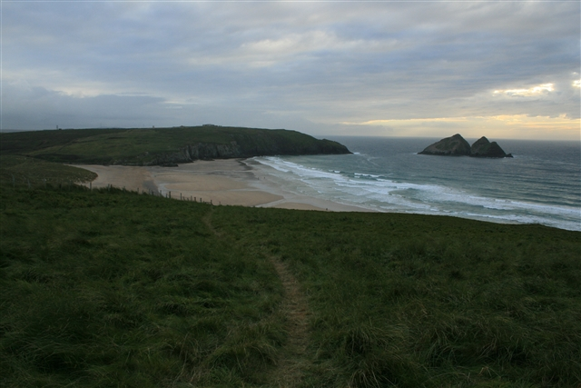 Holywell Bay from Kelsey Head