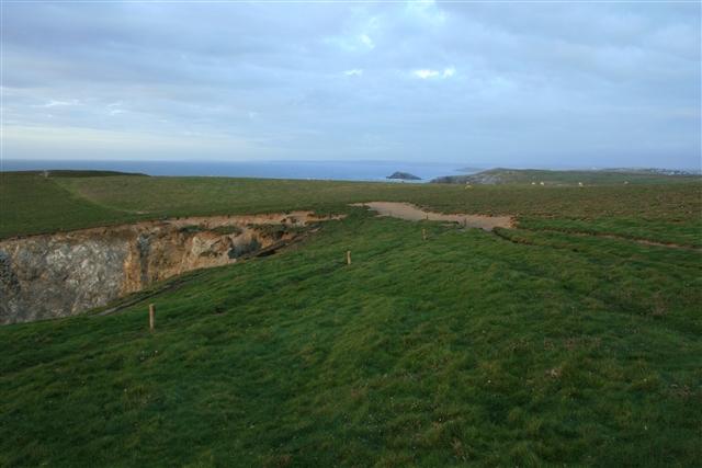 Landslide, Kelsey Head