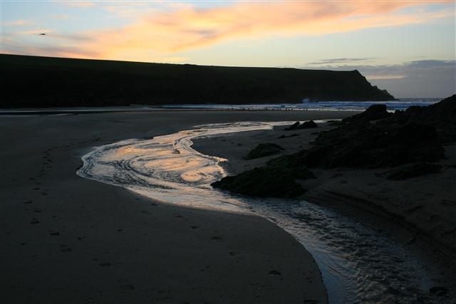Sunset, Porth Joke