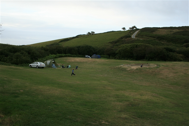 Polly Joke campsite