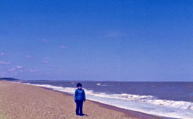 Aldeburgh Beach looking North