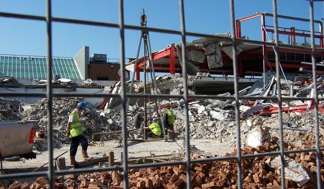 Demolition of Car Park - Fareham