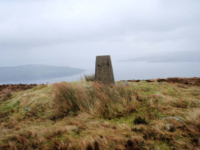 The summit of Strone Hill