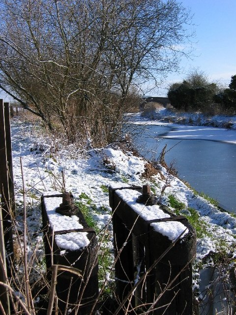Leywood Bridge in Winter