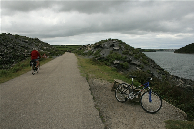 Camel Trail towards Padstow