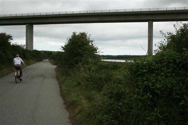 A39 bridge over the Camel