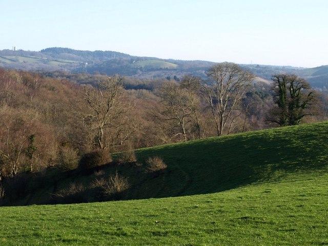 Combe near Easternhill Farm