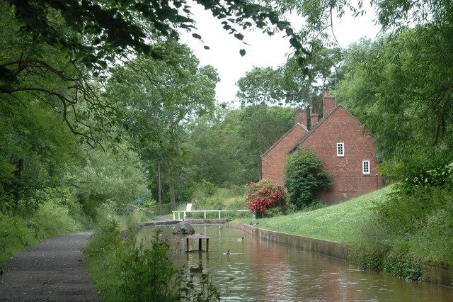Canal at Coalport