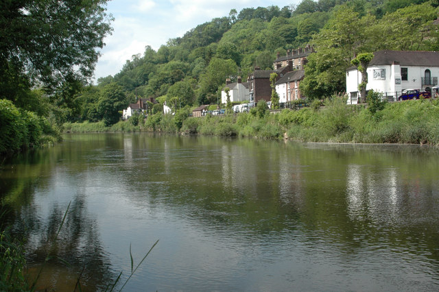 The Wharfage from across the river