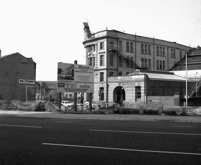 Manchester Victoria, side entrance