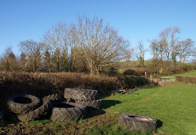 Tyres near Easternhill Farm
