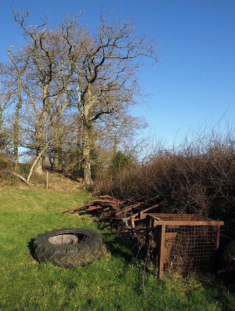 Near Easternhill Farm