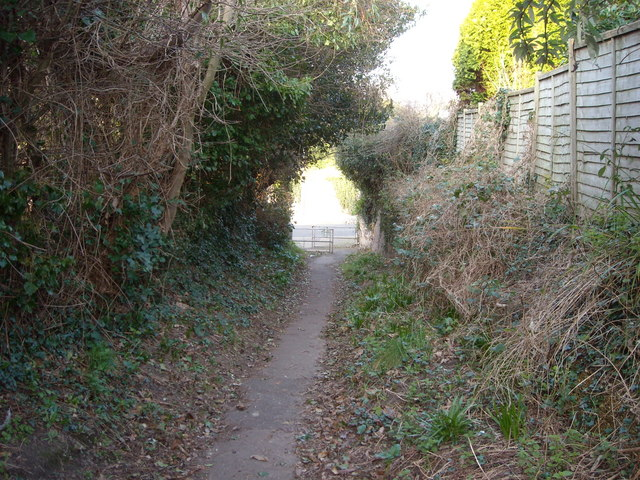 Overgrown Footpath, Bexhill-on-Sea
