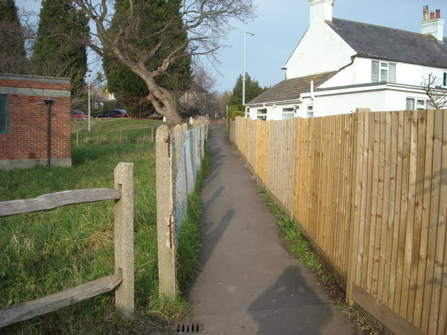 Footpath to Holliers Hill, Bexhill-on-Sea