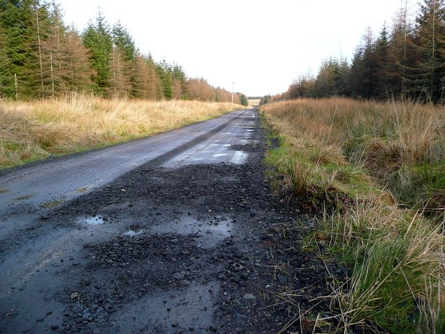 The track to Croilburn