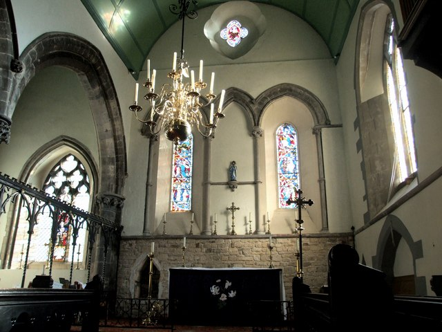 Interior of the Church of St Mary Le Wigford, Lincoln