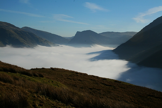 Buttermere seen during a Temperature Inversion
