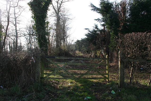 Gate into the Wetlands of Lower Hook