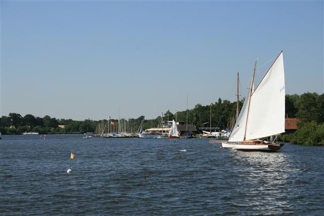 Norfolk Broads Yacht Club, Wroxham Broad