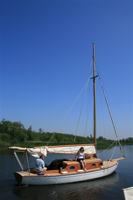 Yacht, Barton Broad