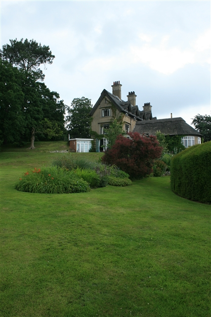 How Hill house and gardens