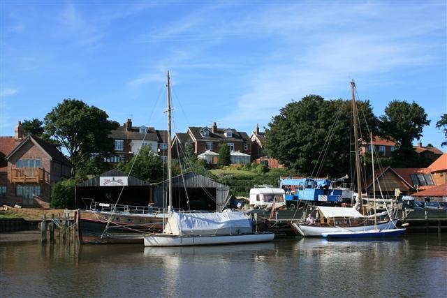 Boatyard, Reedham