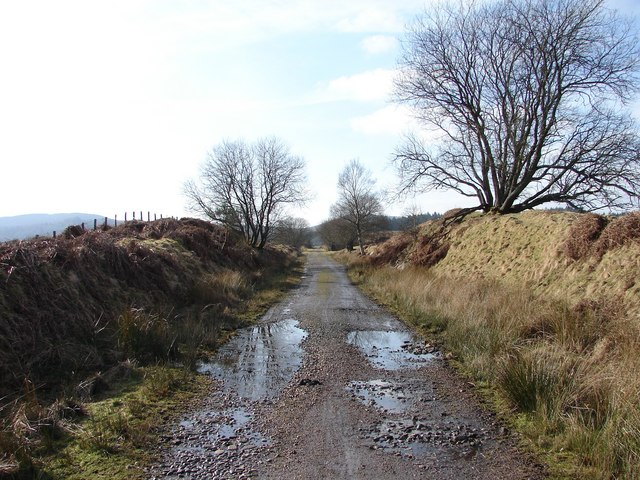 Mossdale: 'Port Line' trackbed