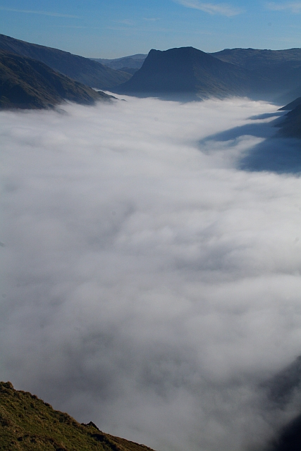 Buttermere seen during a Temperature Inversion (2)